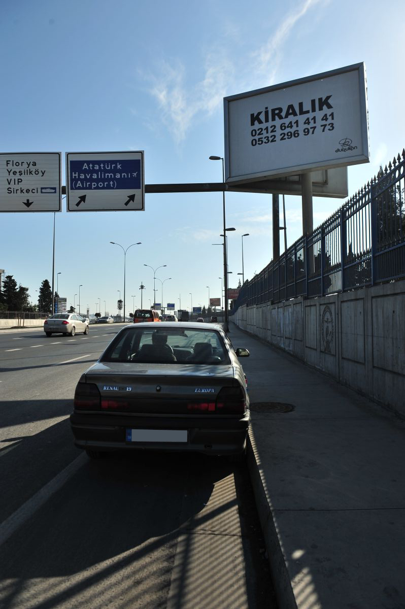 Durukan Advertising Ataturk Airport Sign A-01