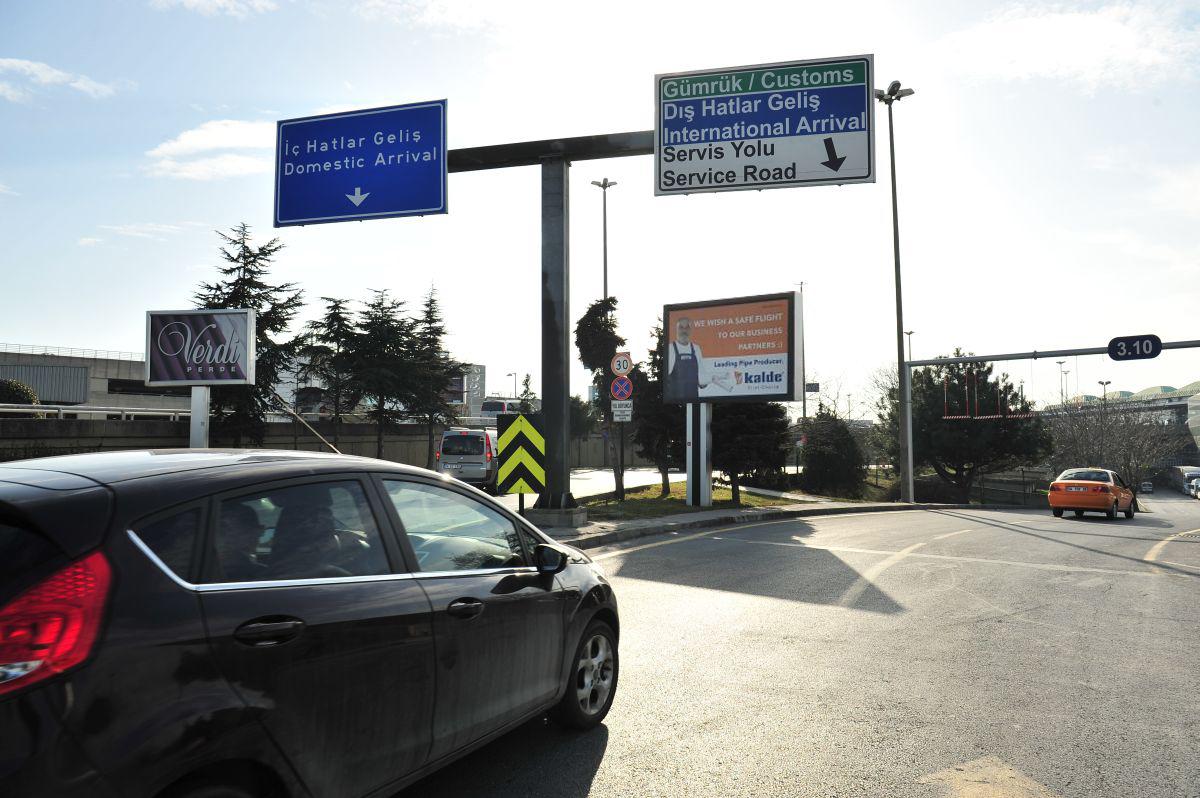 Durukan Advertising Ataturk Airport Sign A-11