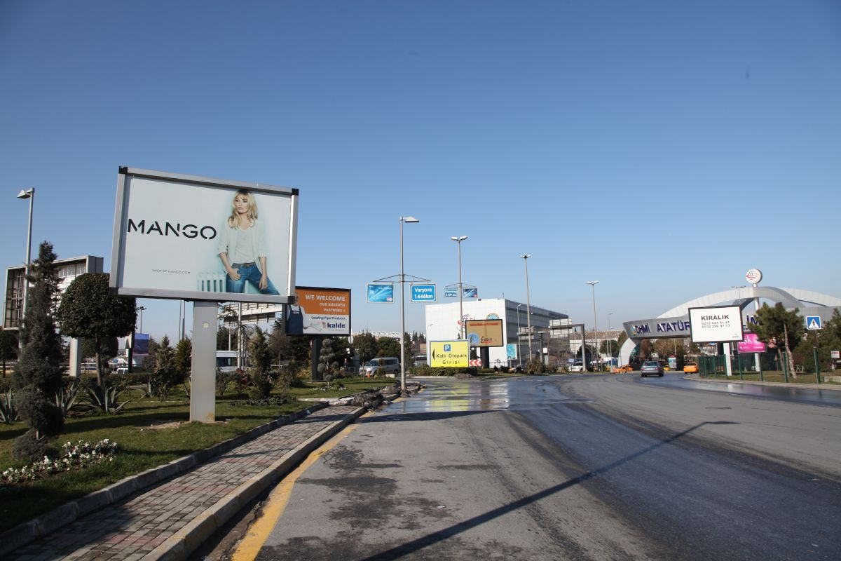 Durukan Advertising Ataturk Airport Sign A-24