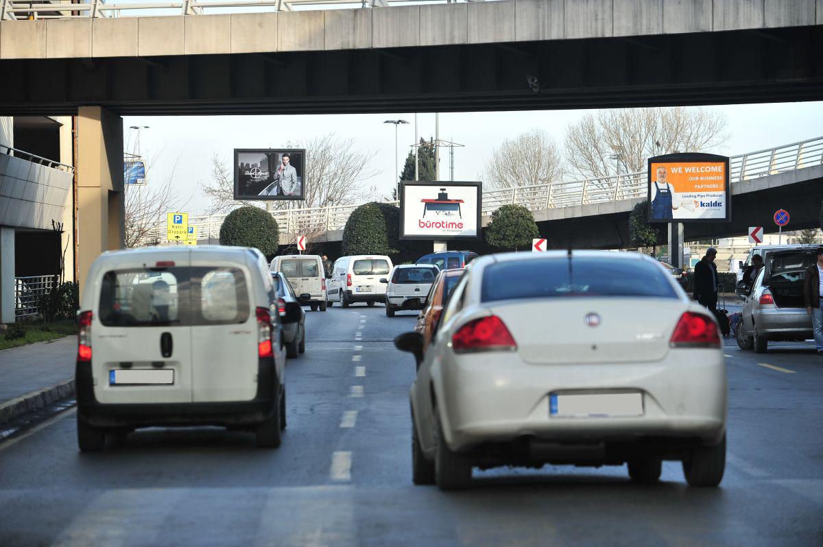 Durukan Advertising Ataturk Airport Sign A-26