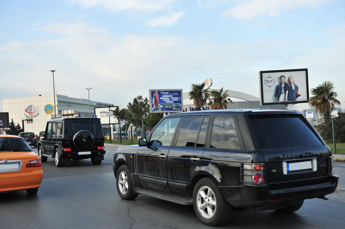 Durukan Advertising Ataturk Airport Sign A-31
